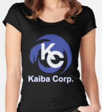 Kaiba Corp Uniform Women's Fitted Scoop T-Shirt