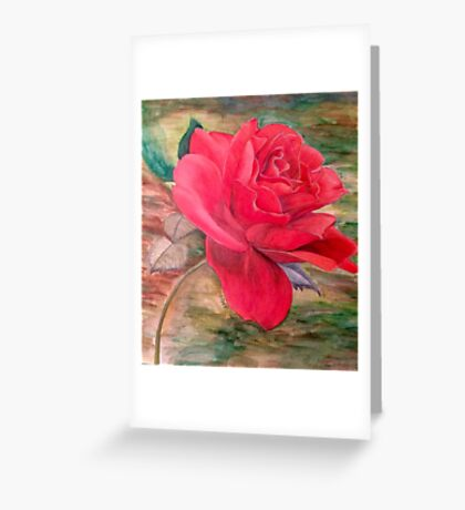 ...Becomes the Rose Greeting Card