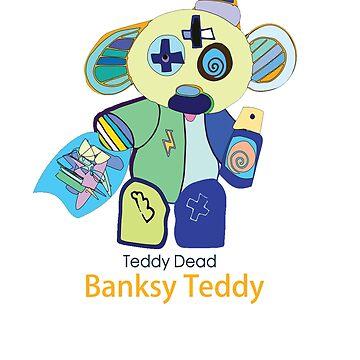 Banksy Teddy by TeddyDead