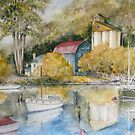 The Tamar River by Muriel Sluce by Wendy Dyer