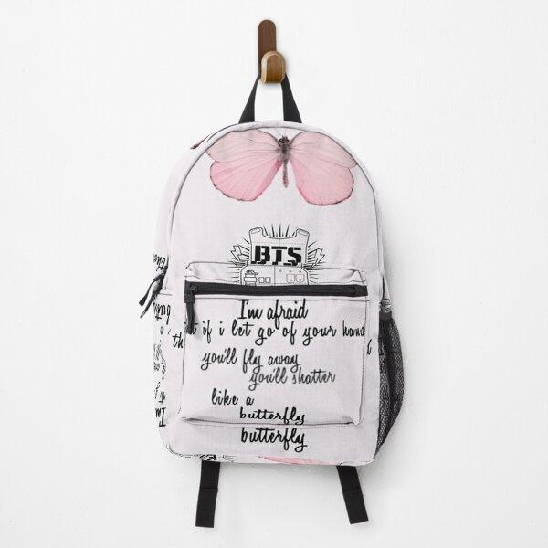 BTS - Butterfly  Lyrics Backpack