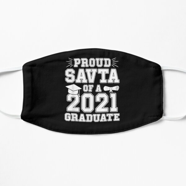Proud Savta Of A 2021 Graduate Graduation Hebrew Grandma  Flat Mask
