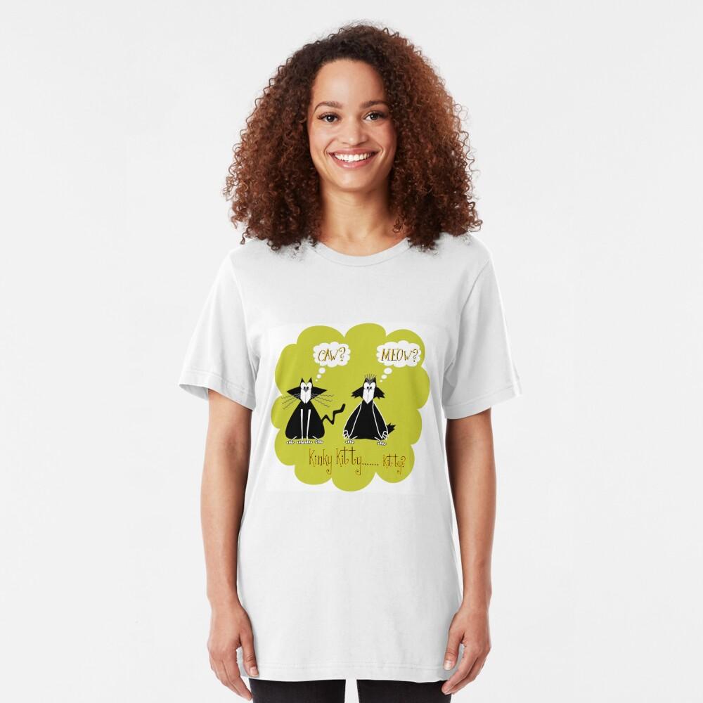 Kinky... Kitty? Slim Fit T-Shirt