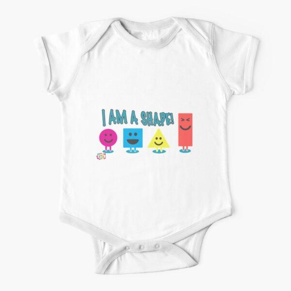 I am a Shape Short Sleeve Baby One-Piece