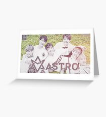 ASTRO ASC Greeting Card
