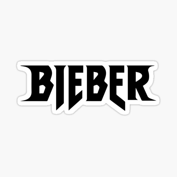 Justin Bieber Pegatina