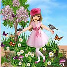 Calender for little girls by aldona