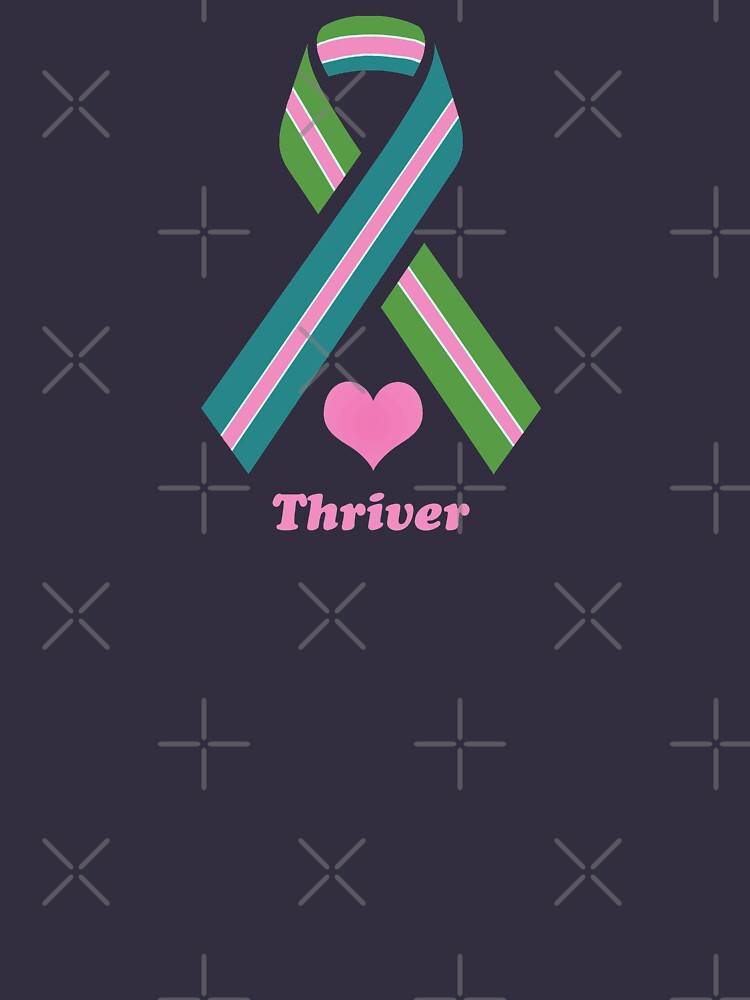 Stage 4 Breast Cancer Thriver Ribbon by Kalistela