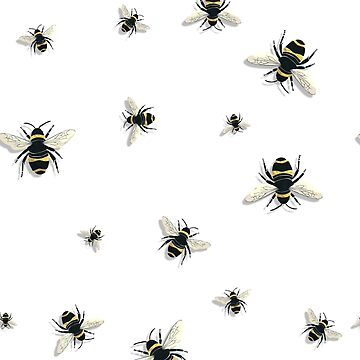 Bees (Pattern) by narufry
