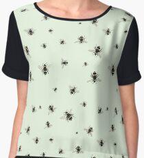 Bees (Pattern) Chiffon Top