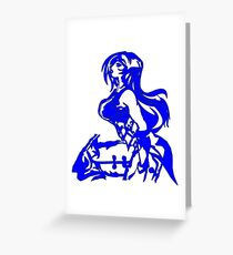 Mystic Elder Woman Greeting Card