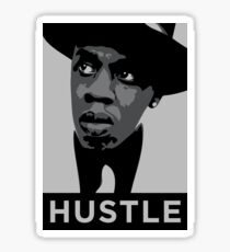 Hustle Sticker