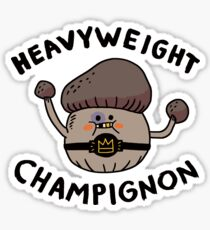 Heavyweight Champignon Sticker