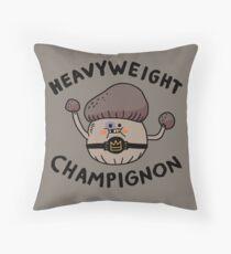 Heavyweight Champignon Throw Pillow