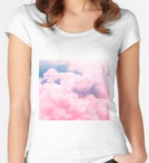 Candy Sky Women's Fitted Scoop T-Shirt