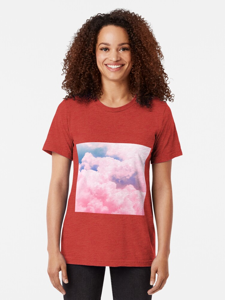 Alternate view of Candy Sky Tri-blend T-Shirt