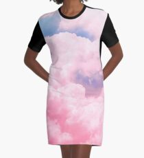 Candy Sky Graphic T-Shirt Dress