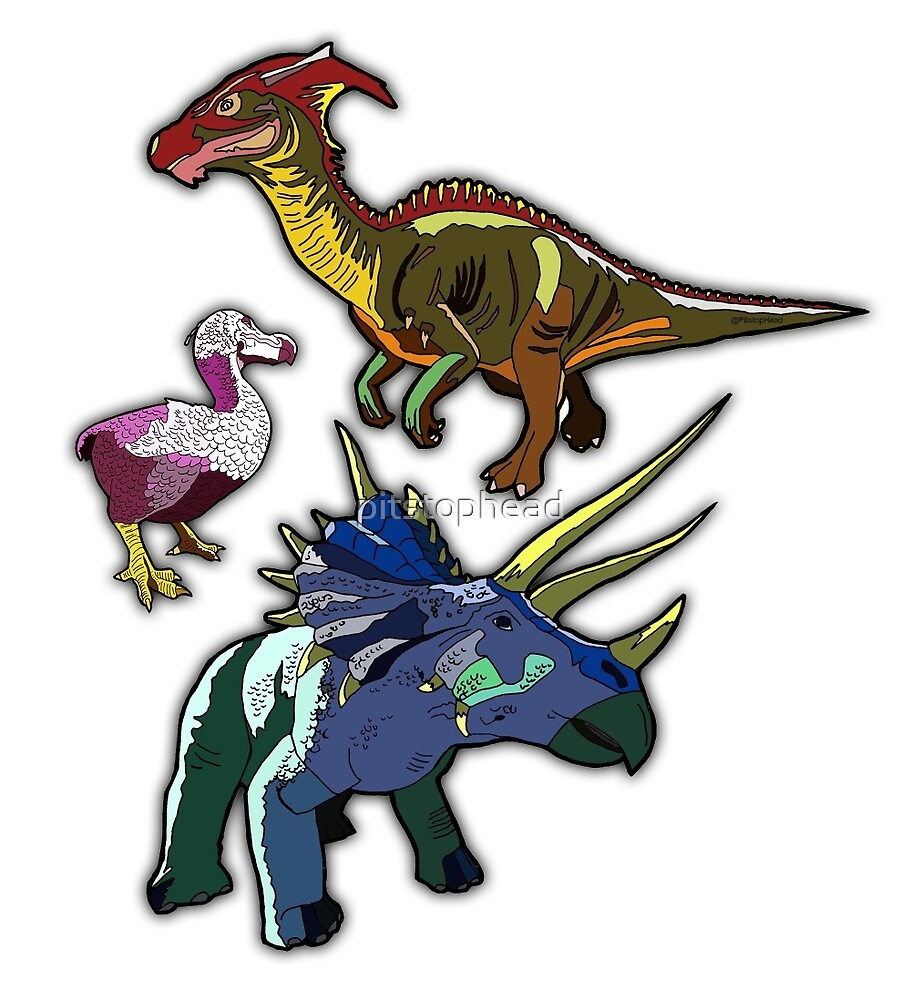Dinosaur Designs by Pitstop Head by pitstophead