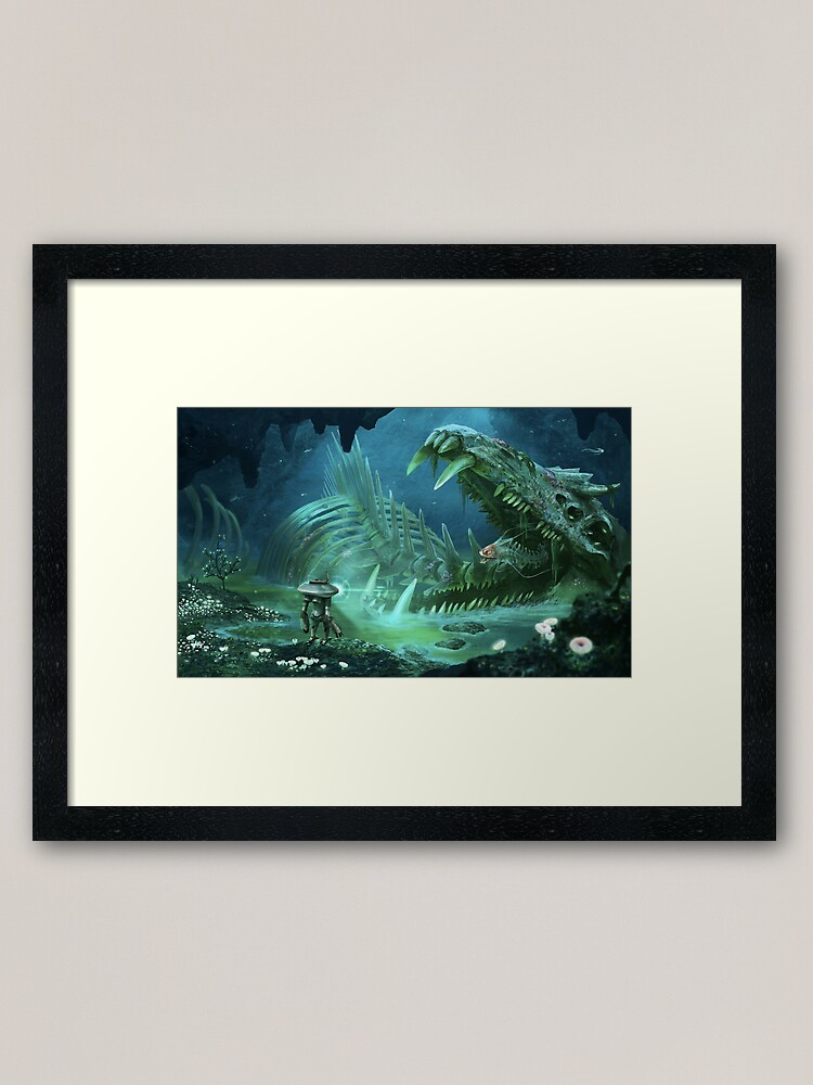 Alternate view of Exploring the Lost River Framed Art Print