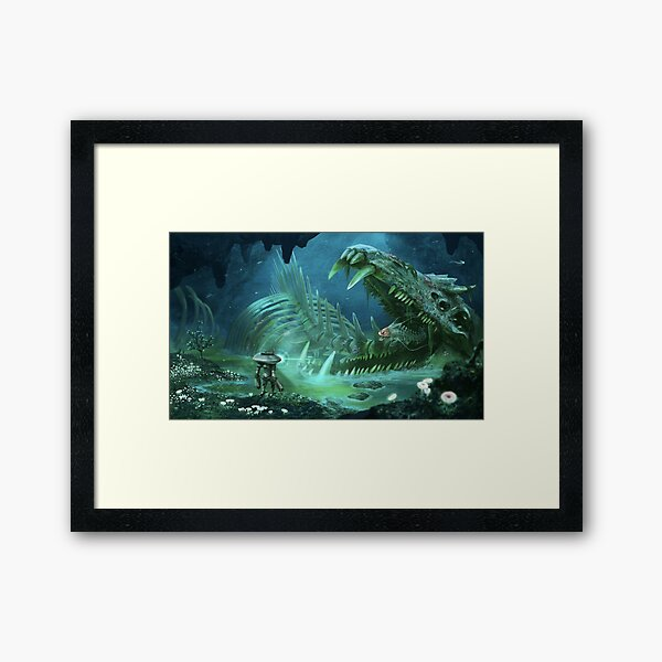 Exploring the Lost River Framed Art Print
