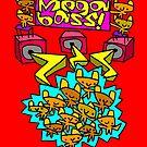 Megabass Bear Party! by Kris Keogh