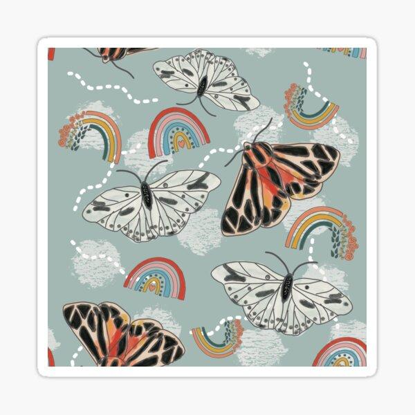 Rainbows & Butterflies Sticker