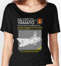 Battleship Yamoto Service and Repair Manual Women's Relaxed Fit T-Shirt