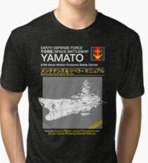 Battleship Yamoto Service and Repair Manual Tri-blend T-Shirt