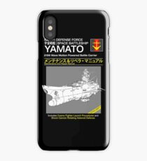Battleship Yamoto Service and Repair Manual iPhone Case/Skin