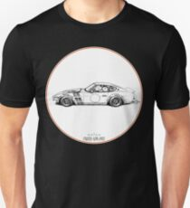 Crazy Car Art 0001 Unisex T-Shirt