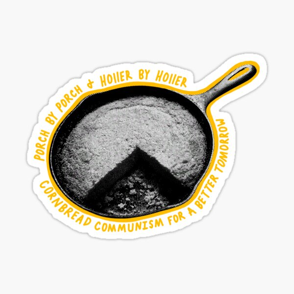 Cornbread Communism Sticker