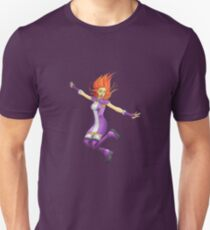 Star Fire (With Clothing) Unisex T-Shirt