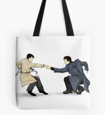 Angels Fear to Tread Tote Bag