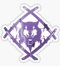 Purple Lightning HollowSquad Sticker