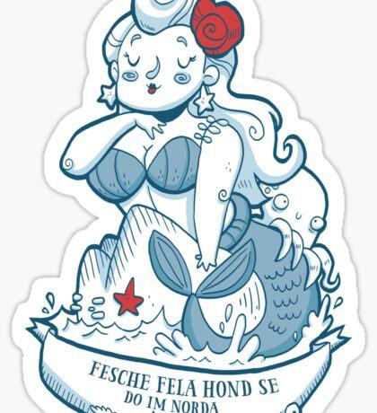 Swabian Mermaid Sticker