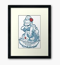 Swabian Mermaid Framed Print