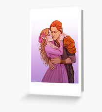 Lucien and Elain Greeting Card