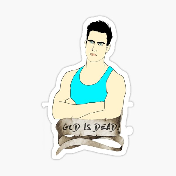 God is Dead, Bro Sticker
