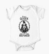 Evil Queen OUAT. Regina Mills. I'm A Queen And A Bit More Refined. One Piece - Short Sleeve
