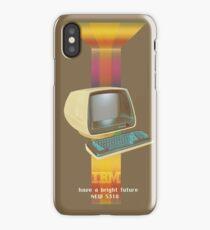ibm old vintage advertise iPhone Case