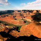 Sunrise over Dead Horse Point.  by philw