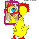 Rick the chick - Achille - chi è più bello di me si trucca by CLAUDIO COSTA