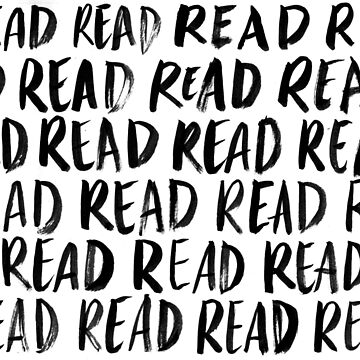 Read, Read, Read (White) by artofescapism