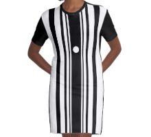 The Doppler Effect Graphic T-Shirt Dress