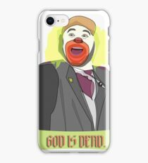 God is Dead, Bozo iPhone Case/Skin