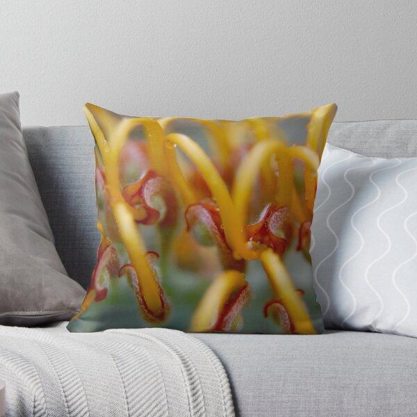 Grevillea 1 Throw Pillow