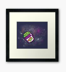 Jam in the Space Framed Print