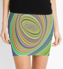 Psychedelic ellipse Mini Skirt