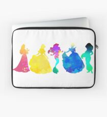 Princesses Inspired Silhouette Laptop Sleeve
