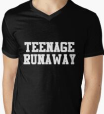 TEENAGE RUNAWAY (as worn by Harry Styles) Mens V-Neck T-Shirt